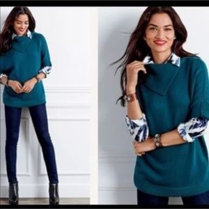 Cabi Style 3011 Fold-over Dolman Poncho Sweater